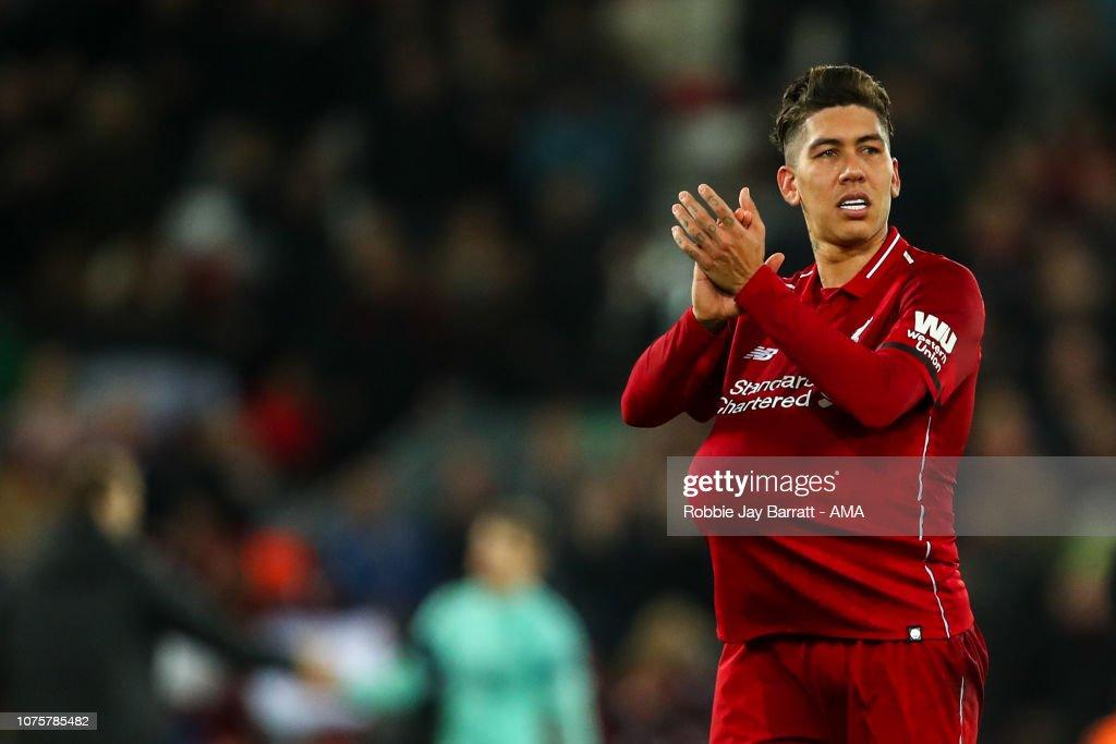 Liverpool FC v Arsenal FC - Premier League : News Photo