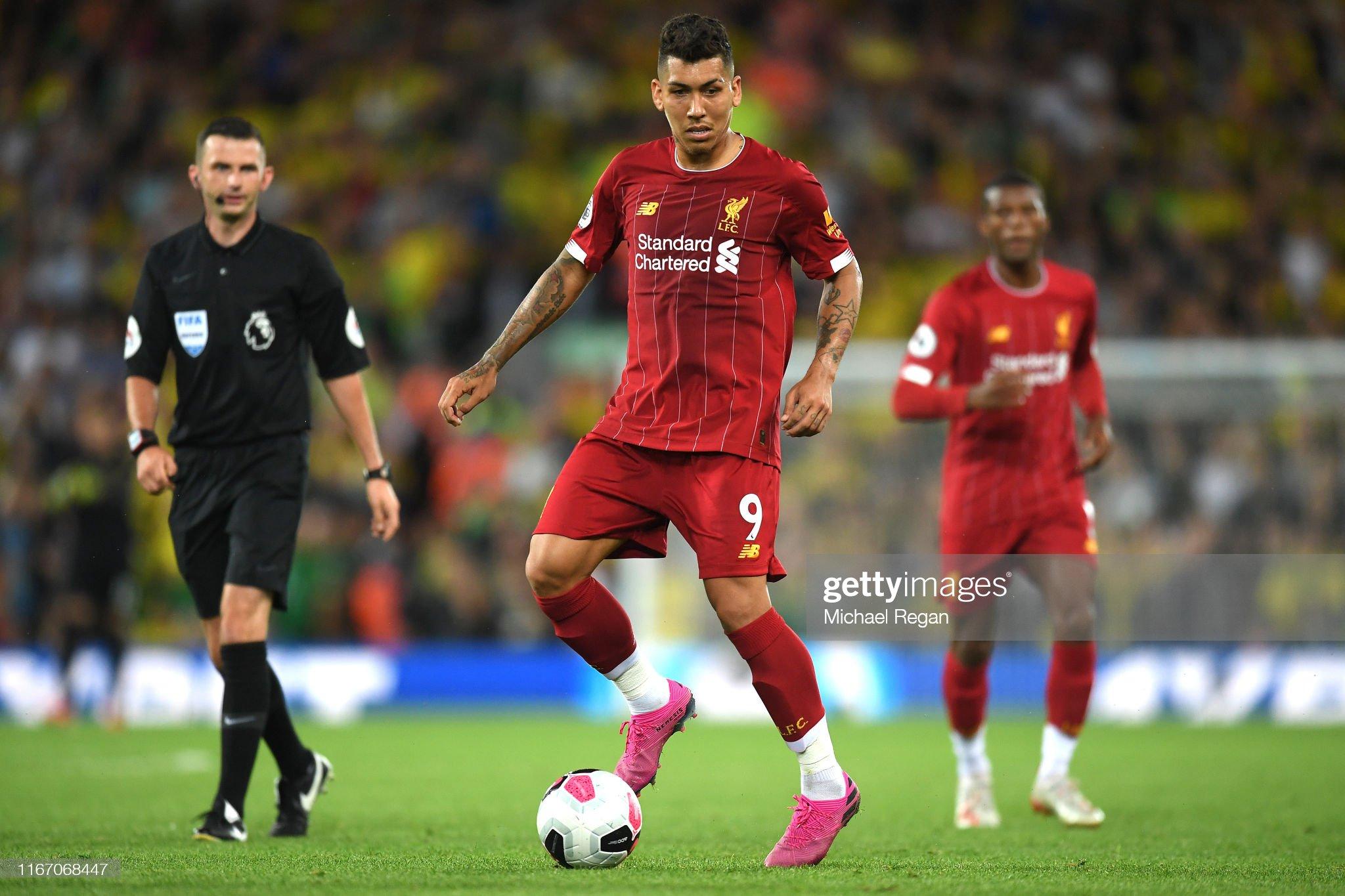 Liverpool FC v Norwich City - Premier League : News Photo