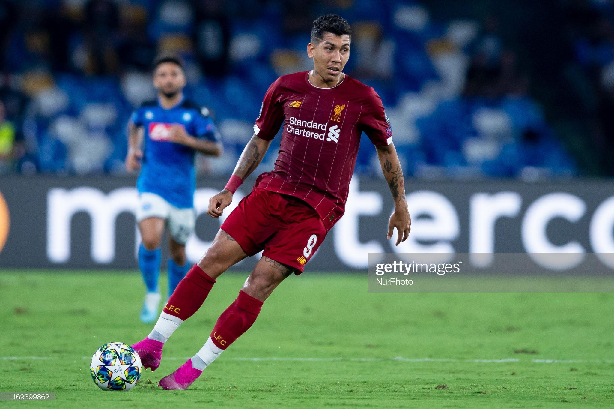 Napoli v Liverpool - UEFA Champions League : News Photo