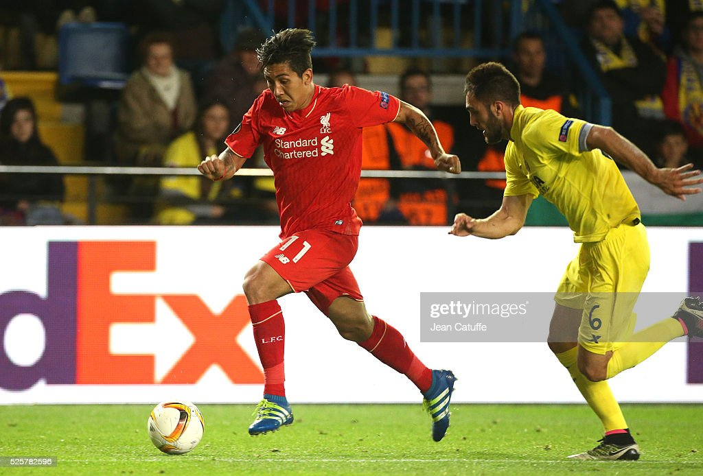 Villarreal CF v Liverpool FC - UEFA Europa League Semi Final: First Leg : News Photo