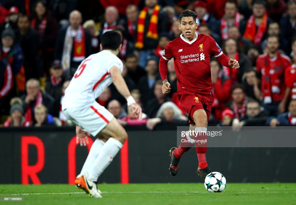 Liverpool FC v Spartak Moskva - UEFA Champions League : News Photo