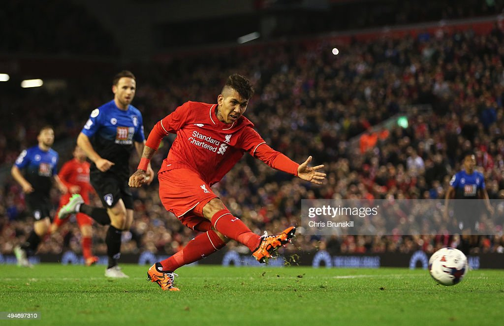 Liverpool v AFC Bournemouth - Capital One Cup Fourth Round : News Photo