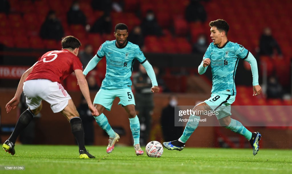 Manchester United v Liverpool: The Emirates FA Cup Fourth Round : ニュース写真