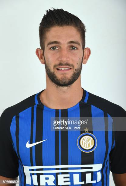 Roberto Gagliardini of FC Internazionale poses on July 10 2017 in Reischach near Bruneck Italy