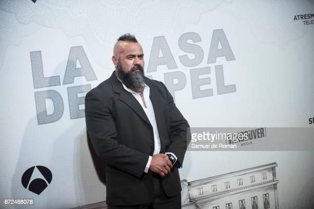 Roberto Garcia attends 'La Casa de Papel' Madrid Premiere on April 24 2017 in Madrid Spain