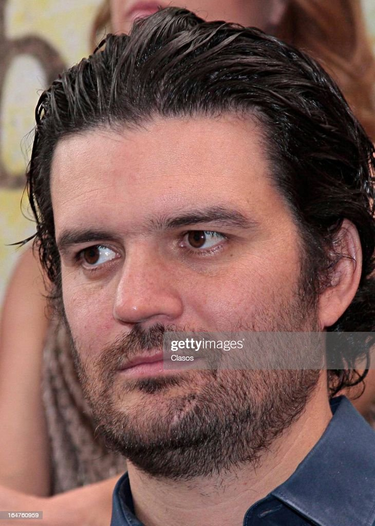 Roberto Girault of 'Los Arboles Mueren de Pie' looks on during the press conference before the start of the shooting of the film on March 27, 2013, in Mexico City, Mexico.