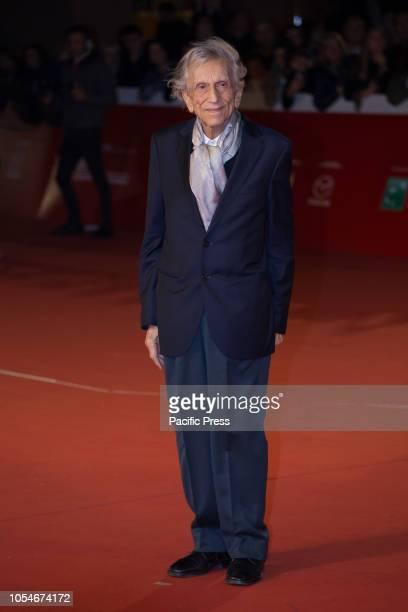 Roberto Herlitzka walks the red carpet ahead of the 'Notti Magiche' screening during the 13th Rome Film Fest