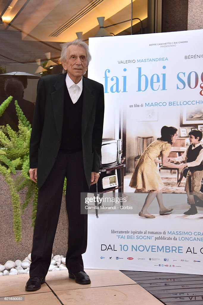 'Fai Bei Sogni' Photocall In Rome