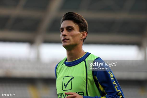 Roberto Inglese of Ac Chievo Verona during the Serie A football match between Torino Fc and Ac Chievo Verona The match ended in a 11 tie