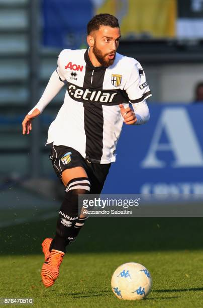 Roberto Insigne of Parma Calcio in action during the Serie B match between Parma Calcio and Ascoli Picchio at Stadio Ennio Tardini on November 18...