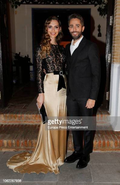 Roberto Leal and Angela Ponce attend Seville Magazine VI Favorite Awards at Morera y Vallejo Cortijo on November 15 2018 in Seville Spain