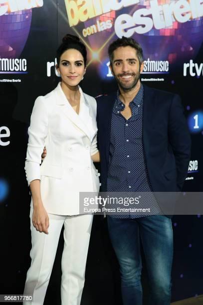 Roberto Leal and Rocio Munoz attend 'Bailando Con Las Estrellas' TVE photocall on May 9 2018 in Madrid Spain