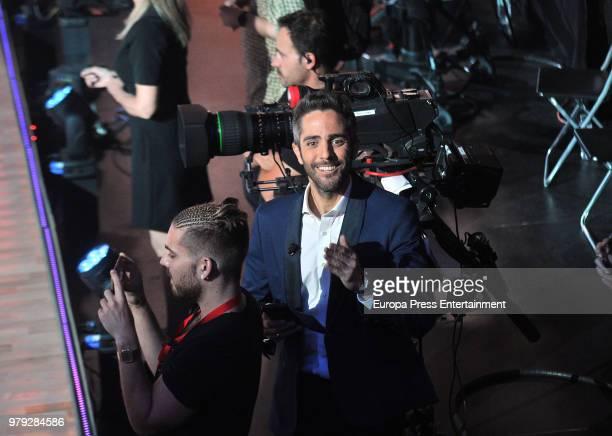 Roberto Leal during 'Bailando con las estrellas' TVE programme on June 19 2018 in Barcelona Spain