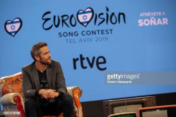 Roberto Leal on January 21 2019 in Barcelona Spain