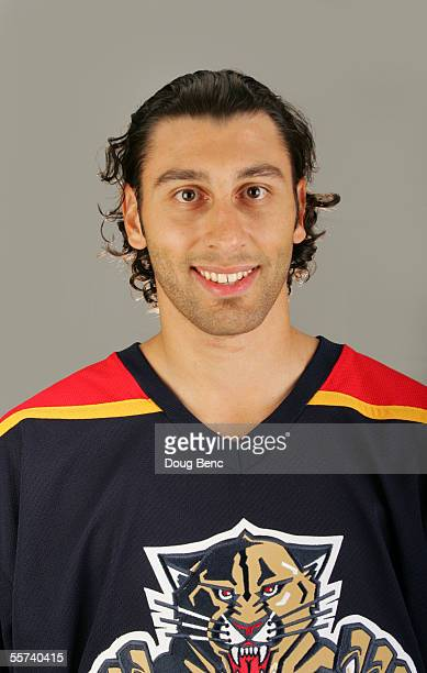 Roberto Luongo of the Florida Panthers poses for a portrait at BankAtlantic Center on September 132005 in SunsetFlorida