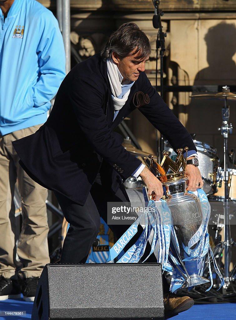 Manchester City Premier League Victory Parade : News Photo