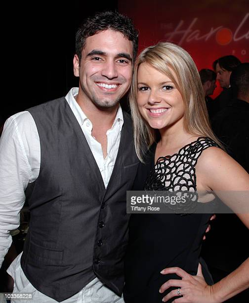 Roberto Martinez and Ali Fedotowsky attend the 10th Annual Harold Pump Foundation Gala on August 12 2010 in Century City California