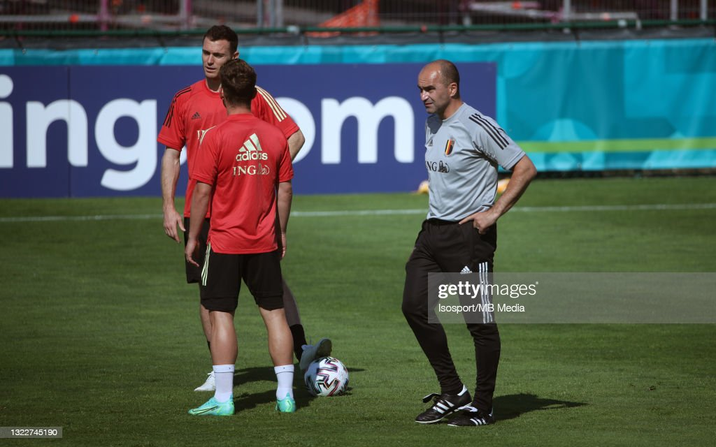 Belgium Training Session : News Photo