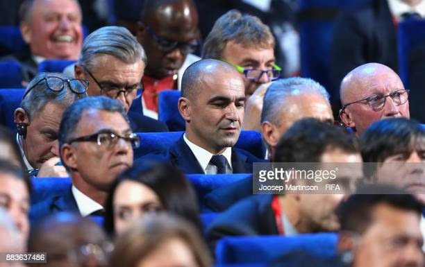 Roberto Martinez Manager of Belgium looks on during the Final Draw for the 2018 FIFA World Cup Russia at the State Kremlin Palace on December 1 2017...