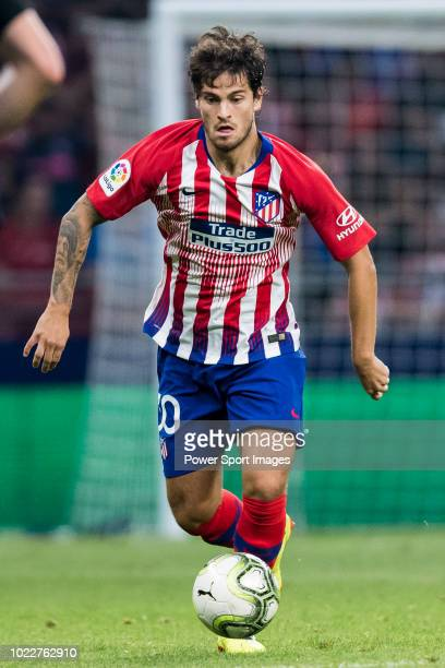 Roberto Olabe of Atletico de Madrid in action during their International Champions Cup Europe 2018 match between Atletico de Madrid and FC...