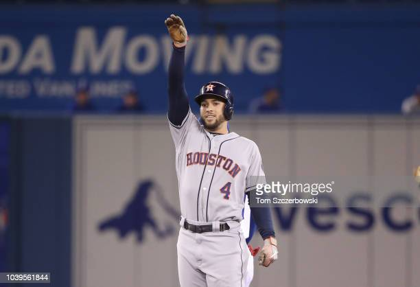 Roberto Osuna of the Houston Astros comes in from the bullpen to pitch the ninth inning during MLB game action against the Toronto Blue Jays at...