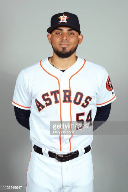 Roberto Osuna of the Houston Astros poses during Photo Day on Tuesday February 19 2019 at the FITTEAM Ballpark of the Palm Beaches in West Palm Beach...