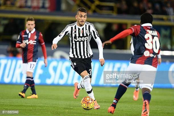 Roberto Pereyra of Juventus FC in action during the Serie A match between Bologna FC and Juventus FC at Stadio Renato Dall'Ara on February 19 2016 in...