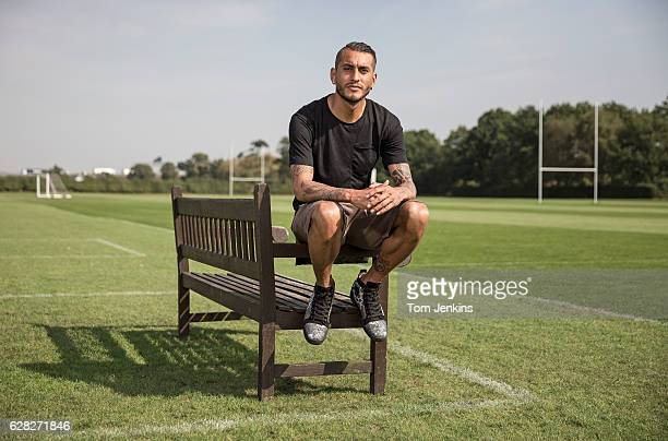 Roberto Pereyra the Watford and Argentina footballer poses for a portrait at the Watford training ground at London Colney on September 14th 2016 in...