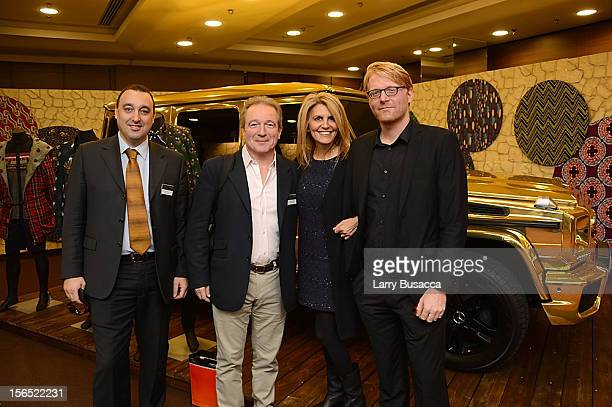 Roberto Rean Cont of Getty Images Georges De Keerle of Getty Images Roxanne Motamedi of Getty Images and Harold Cunningham of The Image Gate attend...