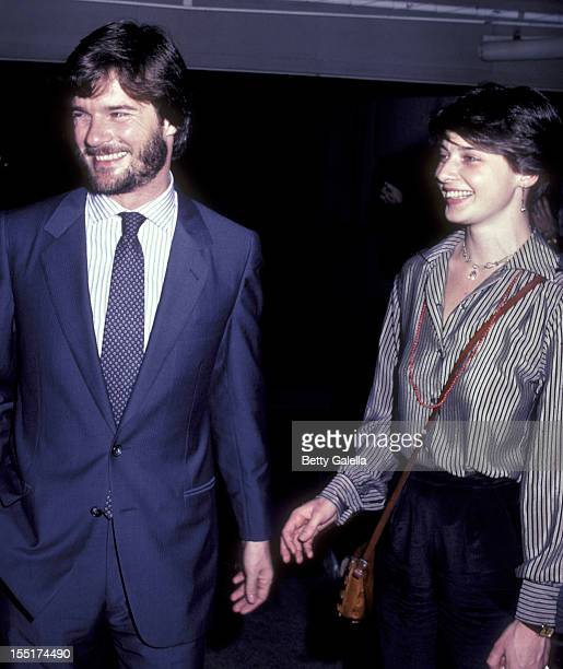 Roberto Rossellini and actress Isabella Rossellini attend 30th Birthday Party for Isabella Rossellini on June 18, 1982 at Pia Zadora's home in New...