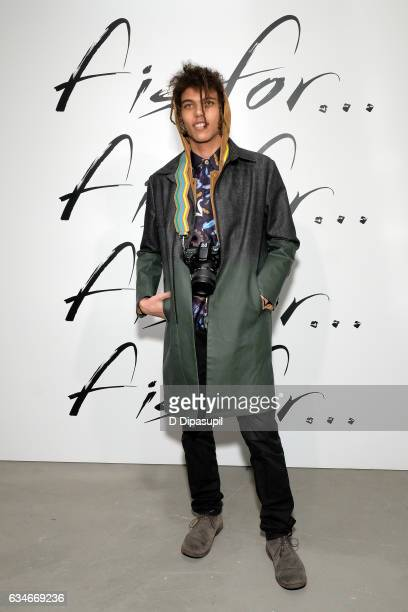 Roberto Rossellini Jr attends the F Is For Fendi New York Fashion Week Party on February 10, 2017 in New York City.