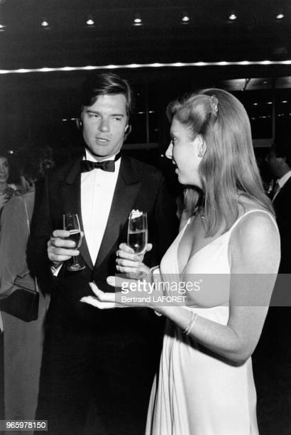Roberto Rossellini Jr lors du soirée donnée durant le Festival de Cannes, le 19 mai 1983, à Cannes, France.