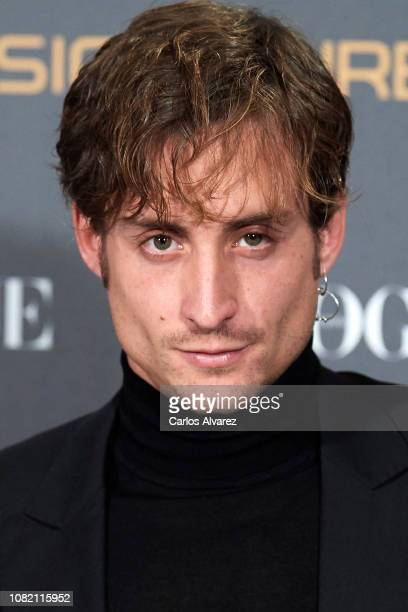 Roberto Ruiz attends 'Vogue LG Signature' photocall at Carlos Maria de Castro Palace on December 13 2018 in Madrid Spain