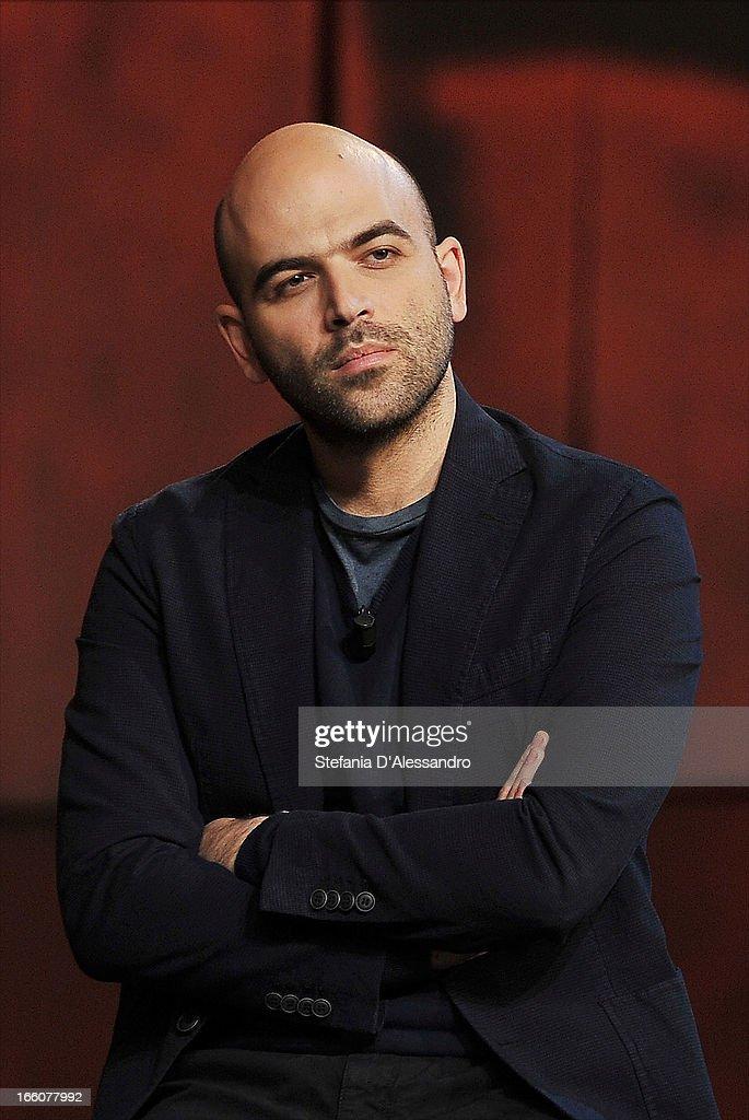 """""""Che Tempo Che Fa"""" Italian TV Show  - April 8, 2013"""