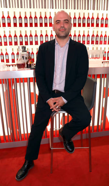 ITA: Campari at 76 Venice Film Festival – Roberto Saviano at Campari Lounge