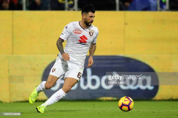 Roberto Soriano of Torino in action during the Serie A match between Cagliari and Torino FC at Sardegna Arena on November 26 2018 in Cagliari Italy
