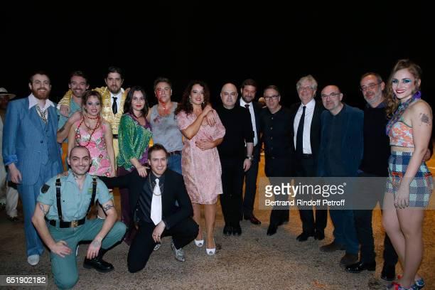 Roberto Tagliavini Soprano Alexandra Kurzak guest Tenor Roberto Alagna MezzoSoprano Clementine Margaine Stage Director Calixto Bieito guest Musical...