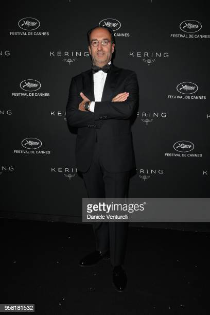 Roberto Vedovotto attends the Women in Motion Awards Dinner presented by Kering and the 71th Cannes Film Festival at Place de la Castre on May 13...