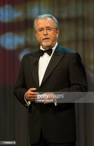 Roberto Zuccato President of Fondazione Il Campiello e di Confindustria Veneto at La Fenice Theater on September 7 2013 in Venice Italy This year is...