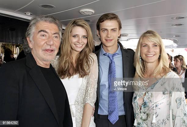 Roberton Cavalii, Mischa Barton, Hayden Christensen and Martha De Laurentiis