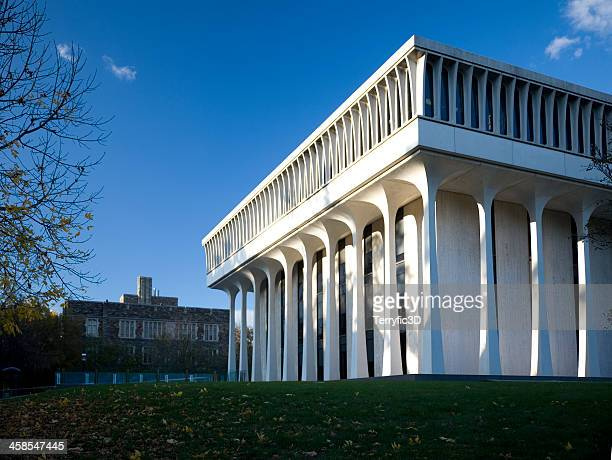 robertson hall, princeton, nj - terryfic3d stock pictures, royalty-free photos & images