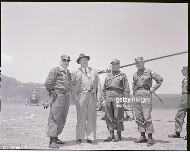 Robertson visits Korea base Korea Deputy Secretary of Defense Reuben B Robertson Jr paying a visit to the 3rd Batallion 21st Infantry Regiment of the...