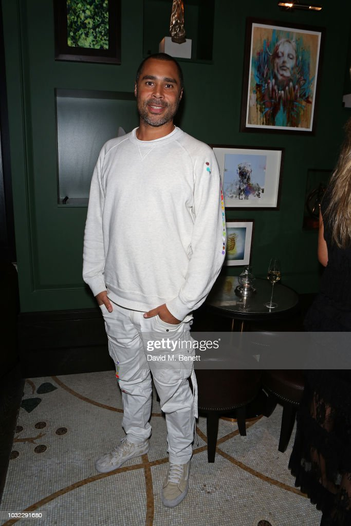 Robi Walters attends the launch of chef Tom Kerridge's new restaurant Kerridge's Bar & Grill at Corinthia London on September 12, 2018 in London, England.