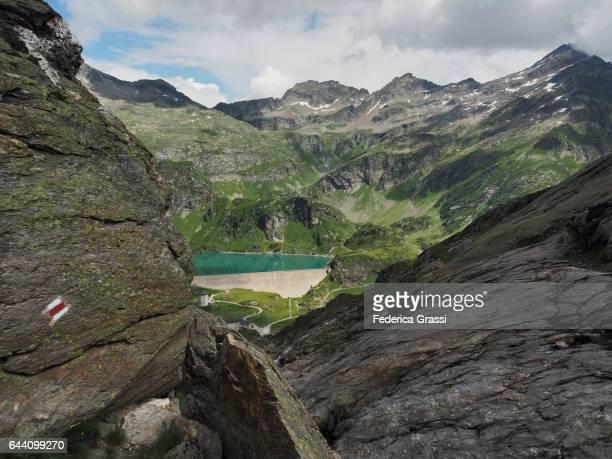 Robiei Cableway Station, Alpine Refuge And Dam, Bavona Valley, Canton of Ticino, Switzerland
