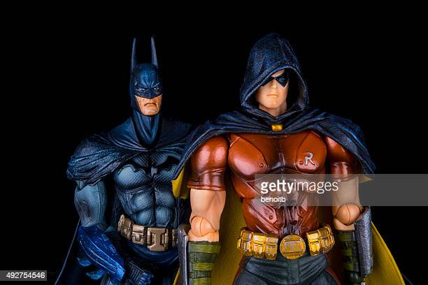 robin and batman - robin superhero stock pictures, royalty-free photos & images