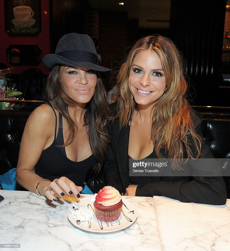 Maria Menounos And Robin Antin attend Sugar Factory American Brasserie