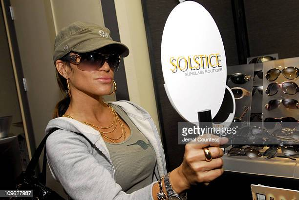 cc4fe807874 Robin Antin in Gucci 2747 s sunglasses during Solstice Sunglass Boutique  and Safilo USA at