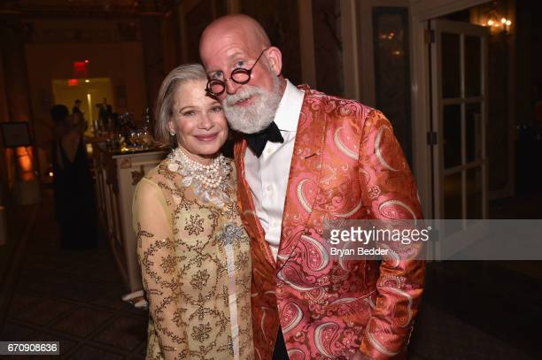 Robin Bell and event designer David Beahm attend the ASPCA hosted 20th Annual Bergh Ball at The Plaza Hotel on April 20 2017 in New York City