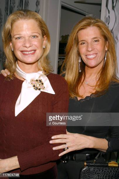 Robin Bell And Jill Raport During Esquire Hosts Kickoff Party For Aspca S Annual Fundraiser Gala