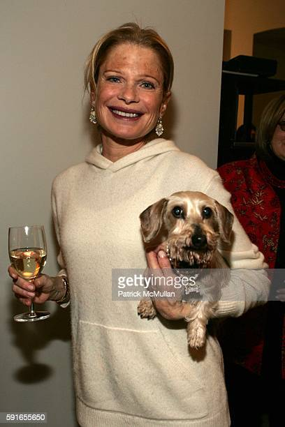Robin Bell And Thumper Attend The New York Design Center Architectural Digest Present Bark